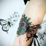 QueegQueg Tattoo Butterfly