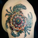 QueegQueg Tattoo Crab