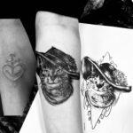 QueegQueg Tattoo Cover up Cat