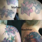 QueegQueg Tattoo Cover up Lilies