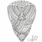 QueegQueg Tattoo Sketch Maori Oberarm