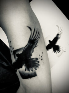 QueegQueg Tattoo Eagle