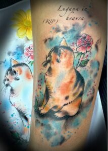 QueegQueg Tattoo Lugana in heaven