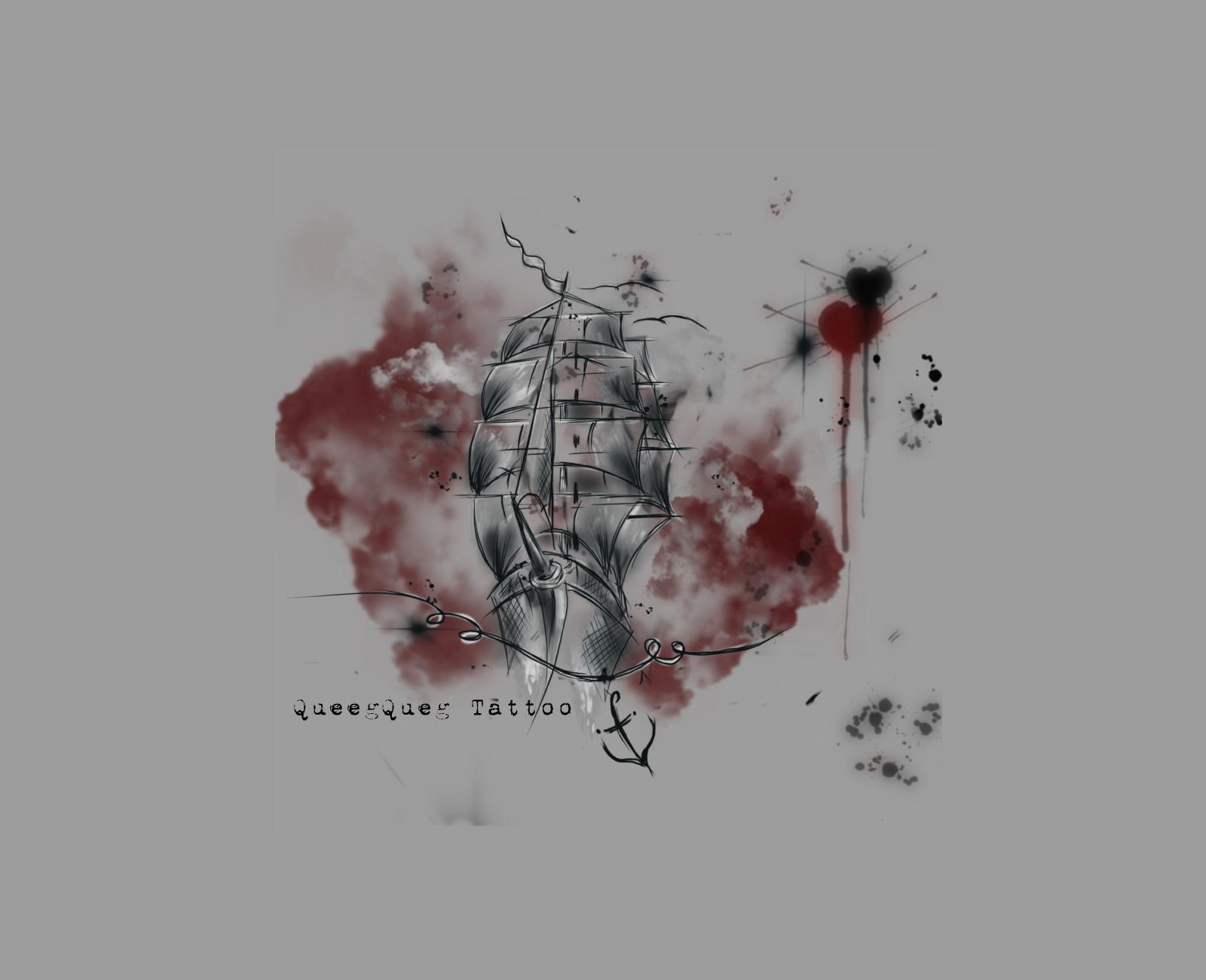 QueegQueg Tattoo - Kommt kein Schiff