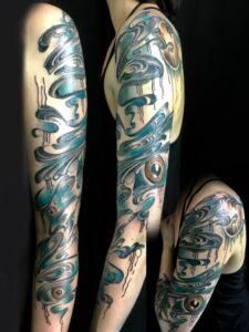 QueegQueg Tattoo Water Aquapunch