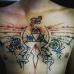 QueegQueg Tattoo Zelda Aquapunch